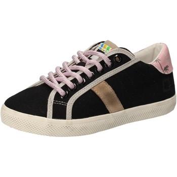 Topánky Dievčatá Nízke tenisky Date Tenisky AD859 Čierna