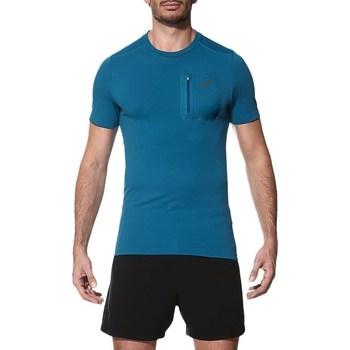 Oblečenie Muži Tričká s krátkym rukávom Asics Elite SS Top Modrá