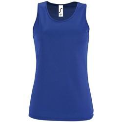 Oblečenie Ženy Tielka a tričká bez rukávov Sols SPORT TT WOMEN Azul