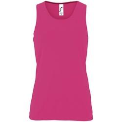 Oblečenie Ženy Tielka a tričká bez rukávov Sols SPORT TT WOMEN Rosa