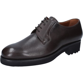 Topánky Muži Derbie Alexander BY450 Hnedá