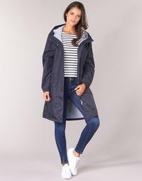Oblečenie Ženy Parky Aigle FIRSTRAIN Námornícka modrá