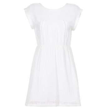 Oblečenie Ženy Krátke šaty Moony Mood INDI Biela