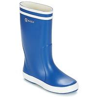 Topánky Deti Čižmy do dažďa Aigle LOLLY POP Modrá