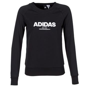 Oblečenie Ženy Mikiny adidas Performance ESS ALLCAP SWT Čierna