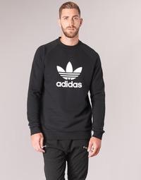 Oblečenie Muži Mikiny adidas Originals TREFOIL CREW Čierna