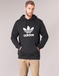 Oblečenie Muži Mikiny adidas Originals TREFOIL HOODIE Čierna