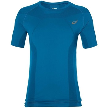 Oblečenie Muži Tričká s krátkym rukávom Asics Tech Tee Modrá