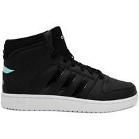 Topánky Ženy Členkové tenisky adidas Originals VS Hoopster Mid Čierna
