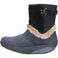 Topánky Ženy Čižmičky Mbt AB217 Čierna