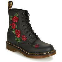 Topánky Ženy Polokozačky Dr Martens 1460 VONDA Čierna