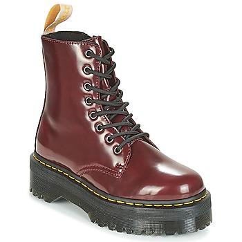 Topánky Polokozačky Dr Martens JADON Bordová