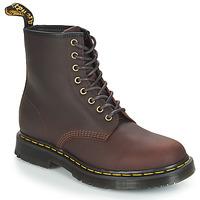Topánky Muži Polokozačky Dr Martens 1460 SNOWPLOW Hnedá