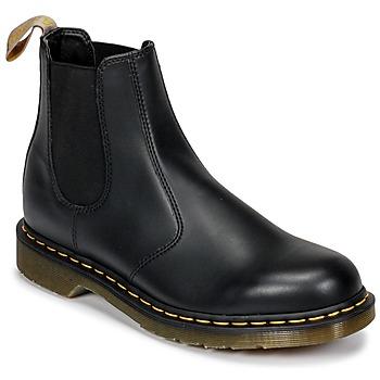 Topánky Polokozačky Dr Martens 2976 VEGAN Čierna