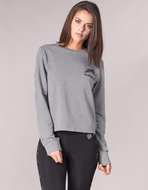 Oblečenie Ženy Mikiny Philipp Plein Sport ROUND AIR SQUAT Šedá