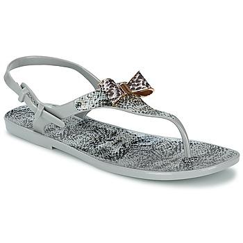 Topánky Ženy Sandále Colors of California SNAKE SANDAL Šedá