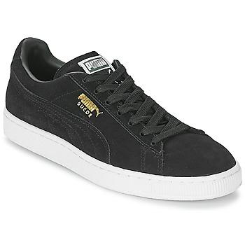 Topánky Nízke tenisky Puma SUEDE CLASSIC čierna