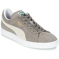 Topánky Nízke tenisky Puma SUEDE CLASSIC šedá