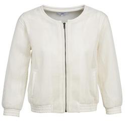 Oblečenie Ženy Saká a blejzre Suncoo DANA Biela