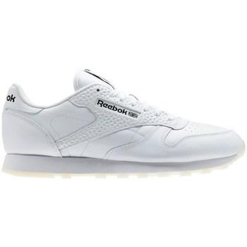 Topánky Muži Nízke tenisky Reebok Sport CL Leather ID Biela
