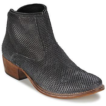 Topánky Ženy Polokozačky Meline ELISE čierna