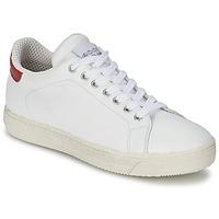 Topánky Ženy Nízke tenisky Meline AIMEE Biela / červená
