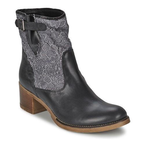 Topánky Ženy Čižmičky Meline ALESSANDRA Čierna
