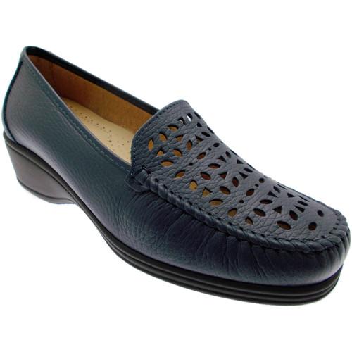 Topánky Ženy Mokasíny Calzaturificio Loren LOK3987bl blu