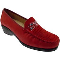 Topánky Ženy Mokasíny Calzaturificio Loren LOK3988ro rosso