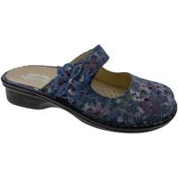 Topánky Ženy Šľapky Calzaturificio Loren LOM2709bl blu