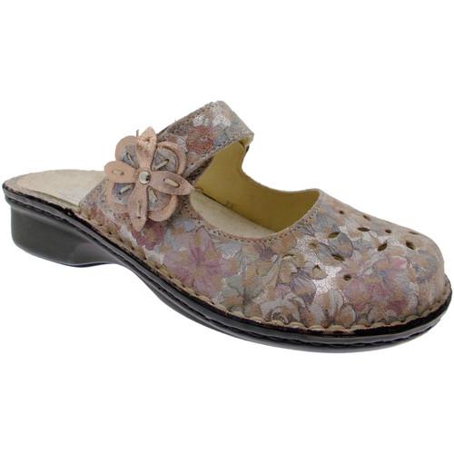 Topánky Ženy Šľapky Calzaturificio Loren LOM2709ci blu