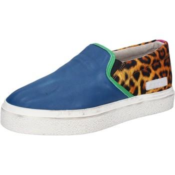 Topánky Ženy Slip-on Date AB540 Modrá
