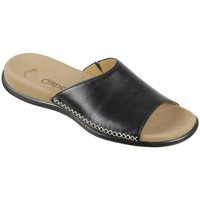 Topánky Ženy Šľapky Gabor 0370527 Čierna