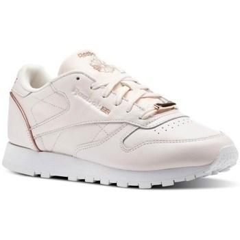 Topánky Ženy Nízke tenisky Reebok Sport CL Lthr Ružová