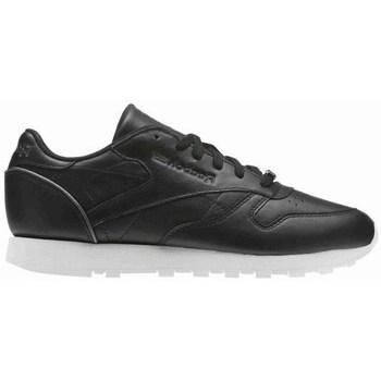 Topánky Ženy Nízke tenisky Reebok Sport CL Lthr Biela,Čierna