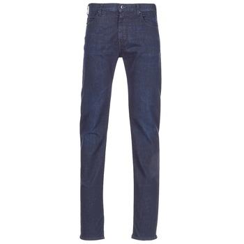Oblečenie Muži Rovné džínsy Emporio Armani BOUWI Modrá / Medium