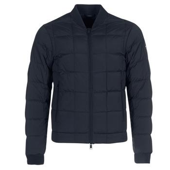Oblečenie Muži Vyteplené bundy Emporio Armani REWA Námornícka modrá