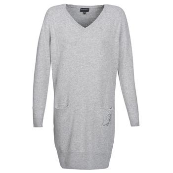 Oblečenie Ženy Krátke šaty Emporio Armani CROWA Šedá