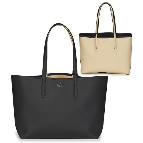 Tašky Ženy Veľké nákupné tašky  Lacoste ANNA Čierna / Béžová