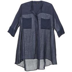 Oblečenie Ženy Blúzky Joseph HEATHER Námornícka modrá