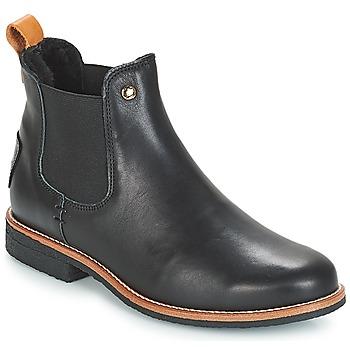 Topánky Ženy Polokozačky Panama Jack GIORDANA Čierna