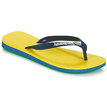 Topánky Žabky Havaianas BRASIL LAYERS Žltá