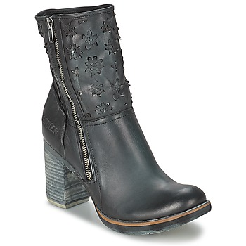 Topánky Ženy Čižmičky Bunker GRACE COOL čierna