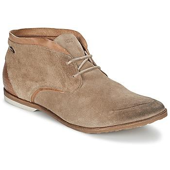 Topánky Muži Polokozačky Coqueterra DYLAN Béžová