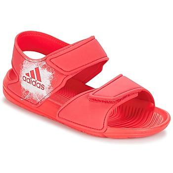 Topánky Dievčatá Sandále adidas Performance ALTASWIM C Ružová