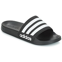 Topánky športové šľapky adidas Performance ADILETTE SHOWER Čierna
