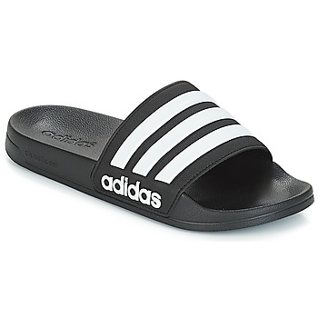 Topánky športové šľapky adidas Originals ADILETTE SHOWER Čierna