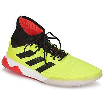 Topánky Muži Futbalové kopačky adidas Performance PREDATOR TANGO 18.1 TR Žltá / Čierna / Červená