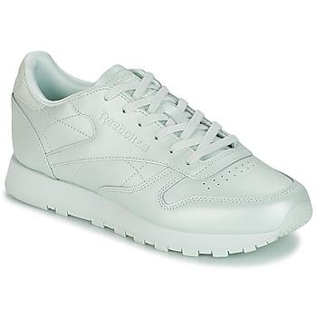 Topánky Ženy Nízke tenisky Reebok Classic CLASSIC LEATHER Zelená