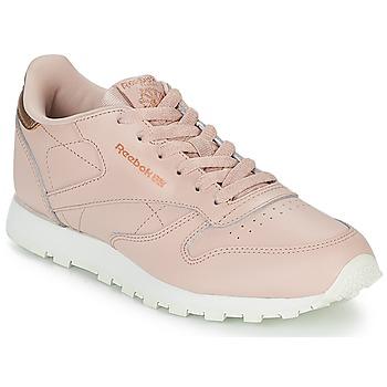 Topánky Dievčatá Nízke tenisky Reebok Classic CLASSIC LEATHER J Ružová